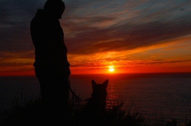 CA Coast Sunset