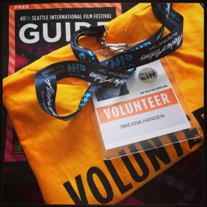 SIFF Volunteer Swag